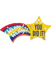 "27"" Congrat Shooting Star Balloon"