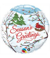 "18"" Season's Greetings Balloon"