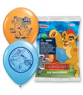 "12"" 6 Count Special Assorted Lion Guard"