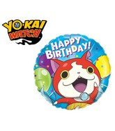 "18"" Packaged Yo-Kai Watch-Jibanyan Birthday"