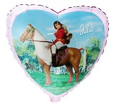 "18"" Julie Horse Mylar Balloon"