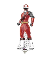 "15"" Airfill Only Power Rangers-Ninja Steel Balloon"