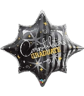 "28"" Congratulations Graduate Balloon Packaged"