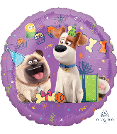 "18"" Party Scene The Secret Life Of Pets Foil Balloon"