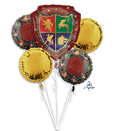 Medieval Bouquet Foil Balloon