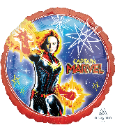 "18"" Captain Marvel Foil Balloons"