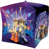 "15"" Lego Movie 2 UltraShape™ Cubez™ Foil Balloon"