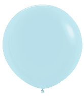 "36"" Betallatex Pastel Matte Blue Latex Balloons (2CT)"
