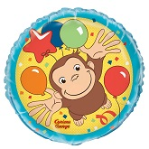 "18"" Curious George Balloon (Sold Packaged)"