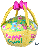 "25"" Jumbo Easter Basket Balloon"