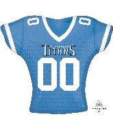 "24"" Tennesee Titans Jersey SuperShape Foil Balloon"