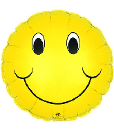 "4"" Airfill Smiley Face M54"