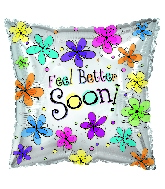 "17"" Feel Better Soon Pillow Balloon"