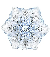 "9"" Airfill Only Prism Pattern Snowflake"