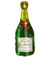 "35"" Congratulations Champagne Bottle"