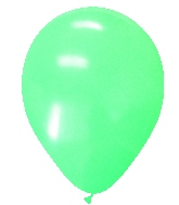 "5"" Mint Green Standard Latex - 100 Ct Bag"
