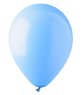 "12"" Standard Light Blue Latex (100 Per Bag)"