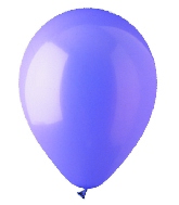"12"" Standard Lavender Latex (100 Per Bag)"
