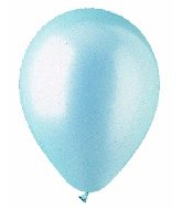 "12"" Pearl Light Blue Latex 100's"