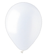 "12"" Pearl White Latex (100 Per Bag)"