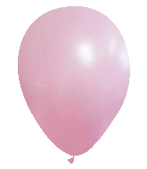 "12"" CTI Brand Matte Bubble Gum Latex Balloons (100 Per bag)"