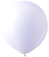 "17""  Standard White Latex 72 Count"