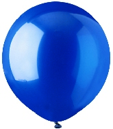 "17"" Crystal Blue Latex 72 Count"