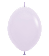 "12"" Link-O-Loon Latex Balloons Pastel Matte Lilac"