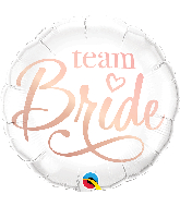 "18"" Team Bride Foil Balloon"
