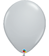 "16"" Qualatex Gray Latex Balloons"