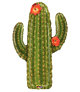 "41"" Mighty Bright® Balloon Shape Mighty Cactus"