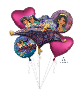 Bouquet Aladdin Foil Balloon
