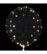 Crystal Clearz White Lights Balloon