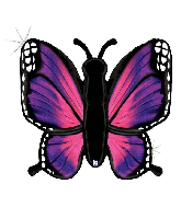 "46"" Holographic Radiant Butterfly-Pink Foil Balloon"