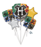 Bouquet Harry Potter Foil Balloon
