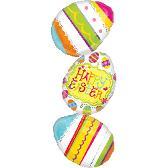 "39"" Large Shape Easter Egg Stacker Packaged"