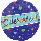 "18"" Celebration Party Mylar Balloons (french)"