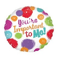 "18"" You&#39re Important To Me Balloon"