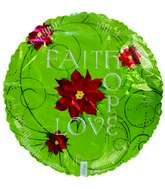 "18"" Faith Hope Love"