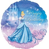 "18"" Princess Cinderella Birthday Balloon"