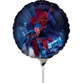"9"" Airfill Only Spider-Man ActionBalloon"