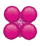 "30"" Magic Arch Large Balloon Metallic Fuchsia"
