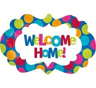 "27"" Welcome Home Supershape Balloon"