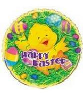 "18"" Happy Easter Duck Balloon"