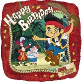 "18"" Jake And The Never Land Pirates Birthday"