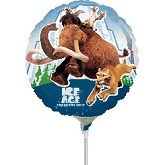 "9"" Airfill Only Ice Age 4 Balloon"