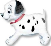 "25"" 101 Dalmations AWK Balloon"