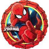 "18"" Marvel Spider-Man Red Boarder Balloon"