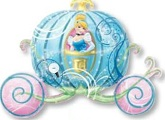 "33"" Cinderella Carriage Shape Balloon"