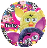 "18"" Furby Group Mylar Balloon"